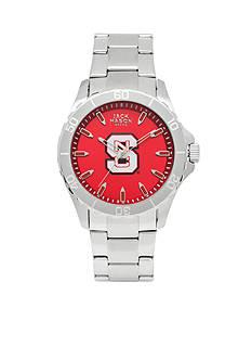 Jack Mason Men's NC State Sport Bracelet Team Color Dial Watch