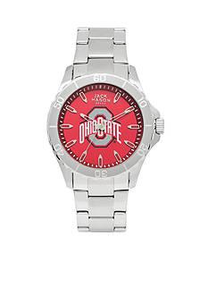 Jack Mason Men's Ohio State Sport Bracelet Team Color Dial Watch