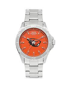 Jack Mason Men's Oregon State Sport Bracelet Team Color Dial Watch