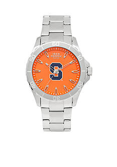 Jack Mason Men's Syracuse Sport Bracelet Team Color Dial Watch