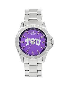 Jack Mason Men's TCU Sport Bracelet Team Color Dial Watch