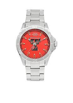 Jack Mason Men's Texas Tech Sport Bracelet Team Color Dial Watch