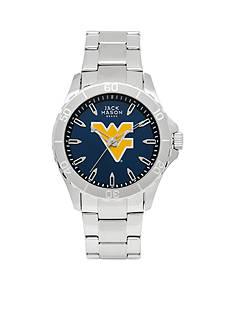 Jack Mason Men's West Virginia Sport Bracelet Team Color Dial Watch