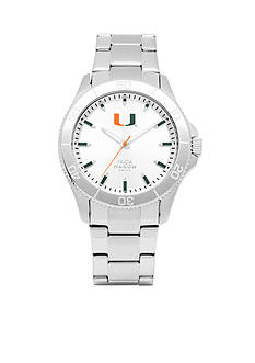 Jack Mason Men's Miami Sport Bracelet Silver Dial Watch