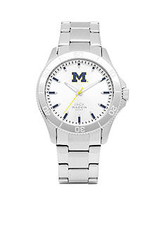 Jack Mason Men's Michigan Sport Bracelet Silver Dial Watch