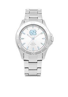 Jack Mason Men's North Carolina Sport Bracelet Silver Dial Watch