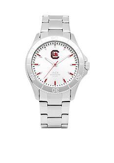 Jack Mason Men's South Carolina Sport Bracelet Silver Dial Watch