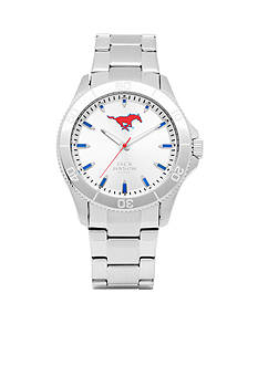 Jack Mason Men's SMU Sport Bracelet Silver Dial Watch
