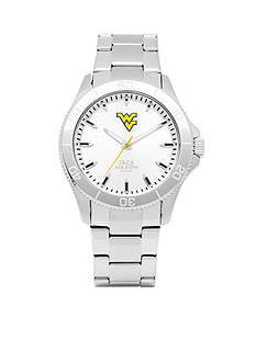 Jack Mason Men's West Virginia Sport Bracelet Silver Dial Watch