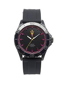 Jack Mason Men's Arizona State Blackout Silicone Strap Watch