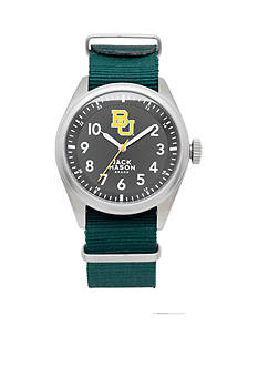 Jack Mason Men's Baylor Nato Solid Strap Watch