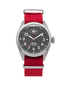 Jack Mason Men's Georgia Nato Solid Strap Watch