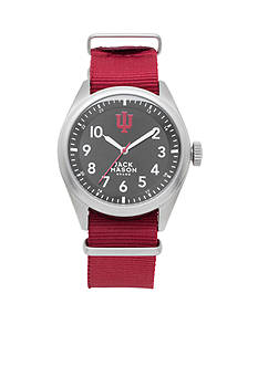 Jack Mason Men's Indiana Nato Solid Strap Watch