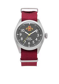 Jack Mason Men's Iowa State Nato Solid Strap Watch