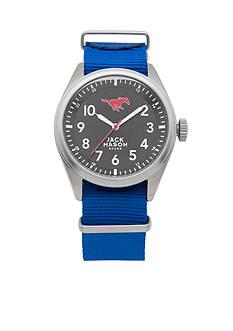 Jack Mason Men's SMU Nato Solid Strap Watch
