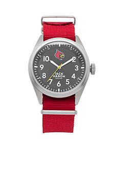 Jack Mason Men's Louisville Nato Solid Strap Watch
