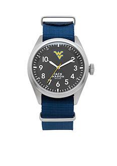Jack Mason Men's West Virginia Nato Solid Strap Watch