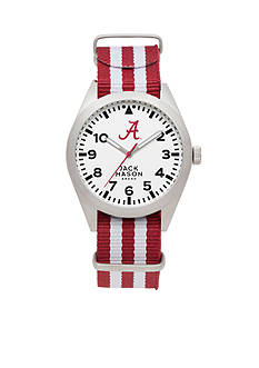 Jack Mason Men's Alabama Nato Striped Strap Watch