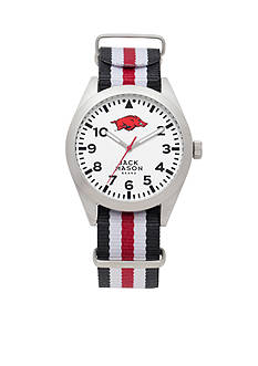 Jack Mason Men's Arkansas Nato Striped Strap Watch