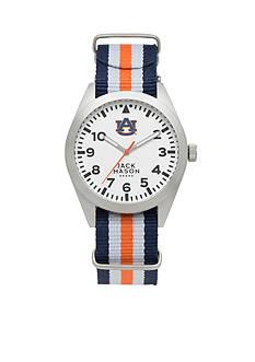 Jack Mason Men's Auburn Nato Striped Strap Watch