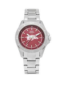 Jack Mason Women's Arkansas Sport Bracelet Team Color Dial Watch