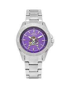 Jack Mason Women's East Carolina Sport Bracelet Team Color Dial Watch