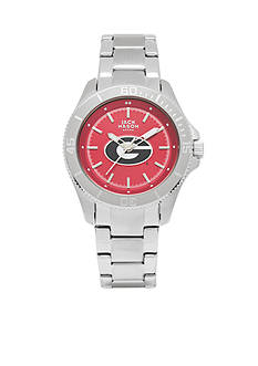 Jack Mason Women's Georgia Sport Bracelet Team Color Dial Watch