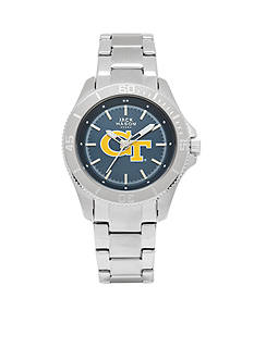 Jack Mason Women's Georgia Tech Sport Bracelet Team Color Dial Watch