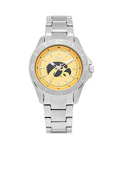 Jack Mason Women's Iowa Sport Bracelet Team Color Dial Watch