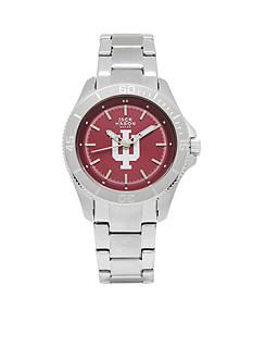 Jack Mason Women's Indiana Sport Bracelet Team Color Dial Watch