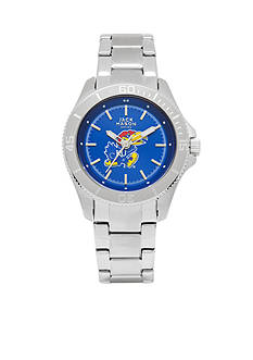 Jack Mason Women's Kansas Sport Bracelet Team Color Dial Watch