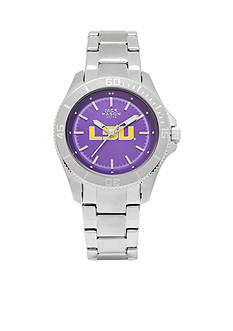 Jack Mason Women's LSU Sport Bracelet Team Color Dial Watch