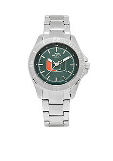Jack Mason Women's Miami Sport Bracelet Team Color Dial Watch