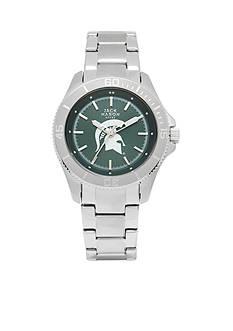 Jack Mason Women's Michigan State Sport Bracelet Team Color Dial Watch