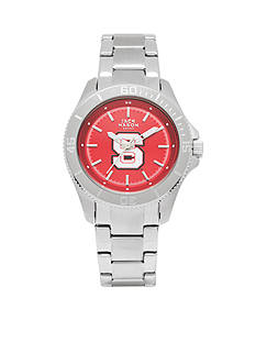 Jack Mason Women's NC State Sport Bracelet Team Color Dial Watch