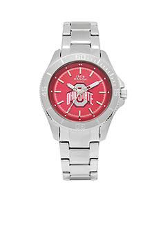 Jack Mason Women's Ohio State Sport Bracelet Team Color Dial Watch