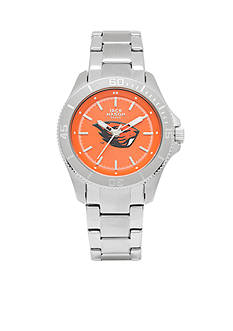 Jack Mason Women's Oregon State Sport Bracelet Team Color Dial Watch