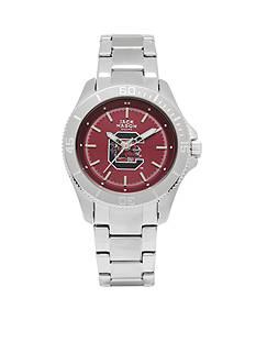 Jack Mason Women's South Carolina Sport Bracelet Team Color Dial Watch