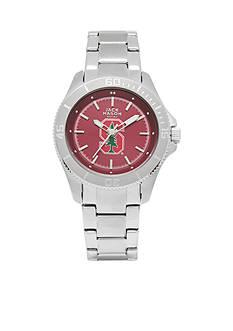 Jack Mason Women's Stanford Sport Bracelet Team Color Dial Watch
