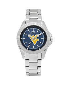 Jack Mason Women's West Virginia Sport Bracelet Team Color Dial Watch