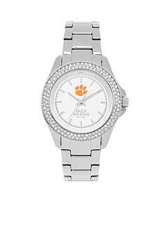 Jack Mason Women's Clemson Glitz Sport Bracelet Watch