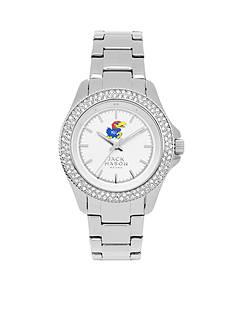 Jack Mason Women's Kansas Glitz Sport Bracelet Watch