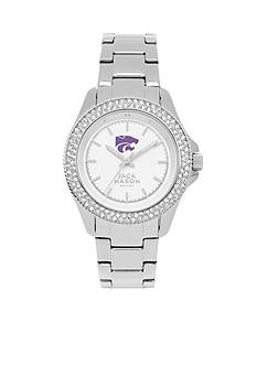 Jack Mason Women's Kansas State Glitz Sport Bracelet Watch