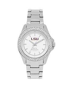 Jack Mason Women's LSU Glitz Sport Bracelet Watch