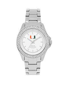 Jack Mason Women's Miami Glitz Sport Bracelet Watch