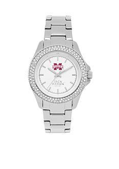 Jack Mason Women's Mississippi State Glitz Sport Bracelet Watch