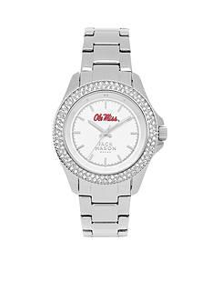Jack Mason Women's Ole Miss Glitz Sport Bracelet Watch