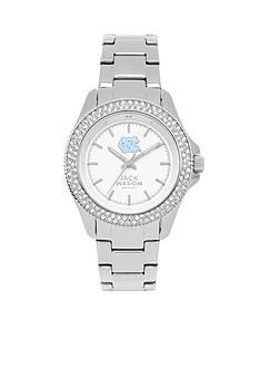 Jack Mason Women's North Carolina Glitz Sport Bracelet Watch