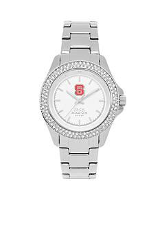 Jack Mason Women's NC State Glitz Sport Bracelet Watch