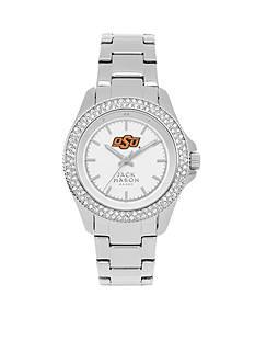 Jack Mason Women's Oklahoma State Glitz Sport Bracelet Watch